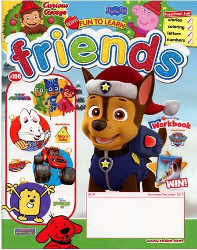FUN TO LEARN FRIENDS  /ファン・トゥー・ラーン・フレンズ (アメリカ幼児英語教材の定期購読 1080円x6冊)