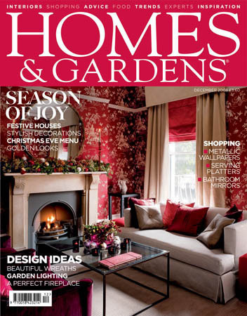 Homes & Gardens/ホームアンドガーデン(イギリス住宅雑誌 定期購読 1680円x12冊 )