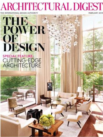 Architectural Digest (洋雑誌 定期購読 790円x12冊 )