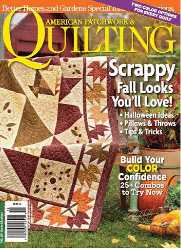 American Patchwork & Quilting / アメリカパッチワークキルティング (洋雑誌 定期購読 1,380 円x6冊 )