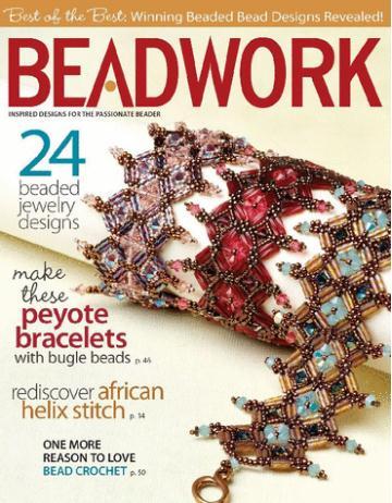 Beadwork/ビーズワーク (洋雑誌 定期購読 6冊x1380円 )
