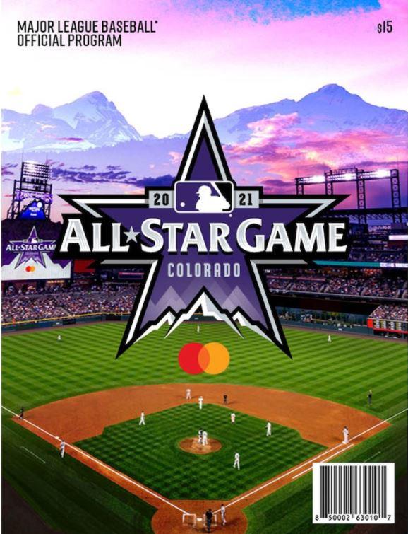 2021 MLB All-Star Game Program 大谷選手オールスタープログラム