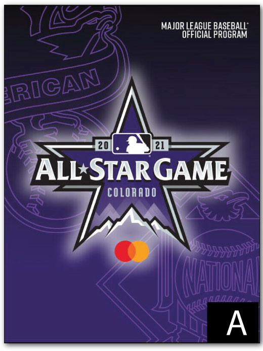 2021 MLB All-Star Game Program 大谷翔平