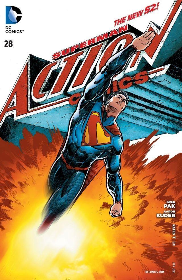 ACTION COMICS/アクションコミックス (DCコミック洋雑誌 定期購読 580円x12冊 )