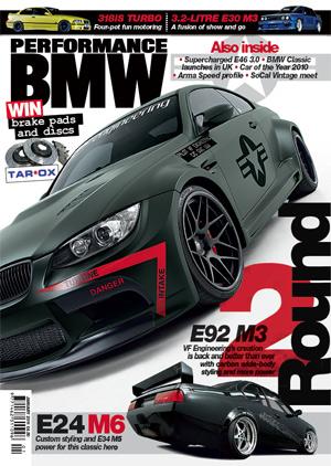 Performance BMW Magazine (UK) (英国洋雑誌 定期購読 1380円x12冊 )