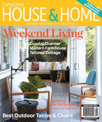 Canadian House & Home  (カナダ洋雑誌 定期購読 980円x12冊 )