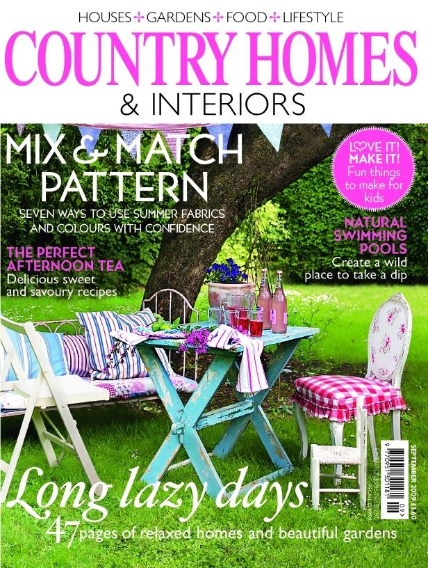 COUNTRY HOMES & INTERIORS (イギリス住宅雑誌 定期購読 1880円x12冊 )