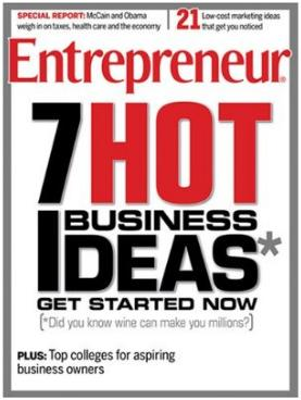Entrepreneur  (洋雑誌 定期購読 760円x12冊 )