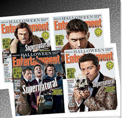 【単号】Entertainment Weekly/スーパーナチュラル表紙2017年10月27日海外ドラマ雑誌 [送料無料][コレクターズ]