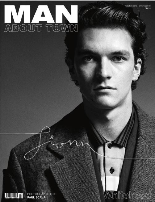 <ご予約のお客様専用>FIONN WHITEHEAD - Man About Town Winter 2018 / Spring 2019 Magazine