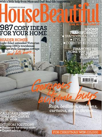 House Beautiful UK /ハウスビューティフル(イギリスインテリア雑誌 定期購読 1,280円x12冊 )