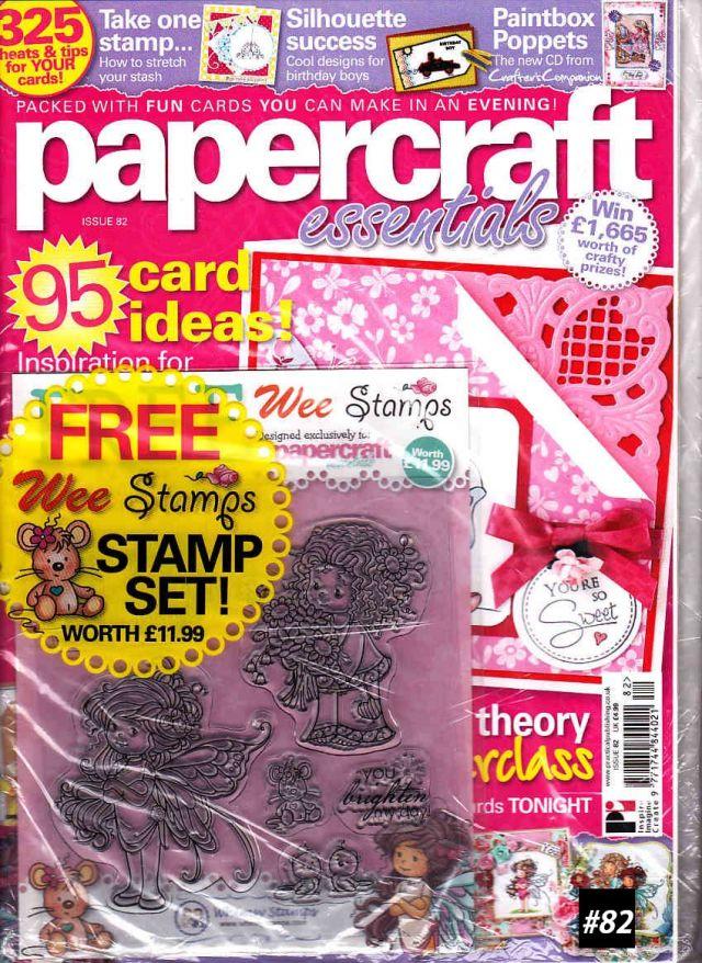 【単号】Papercraft Essentials(ペーパークラフトエッセンシャルズ)#82 イギリス洋雑誌  [US] [単品][送料無料]