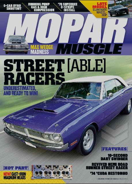MOPAR MUSCLE  (洋雑誌・定期購読 820円x12冊)