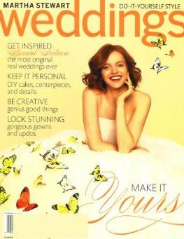 Martha Stewart Weddings /マーサスチュワートウエディング(洋雑誌 定期購読 1780円x4冊 )