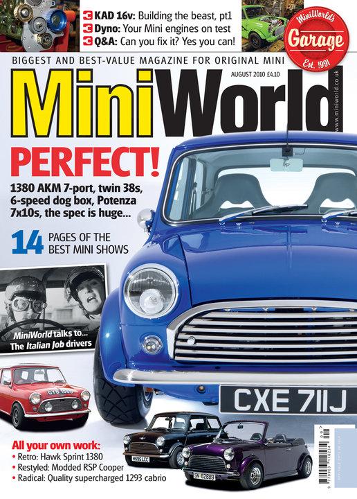 Mini World (UK)/ミニワールド (イギリス車洋雑誌 定期購読 1380円x13冊 )