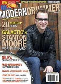 Modern Drummer Magazine/モダンドラマー (洋雑誌 定期購読 960円x12冊)