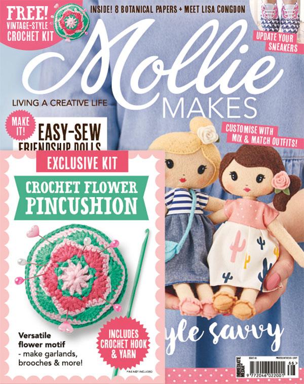 Mollie MAKES (定期購読1550円x13冊)