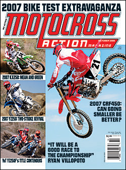 Motocross Action/モトクロス (洋雑誌 定期購読 820円x12冊 )