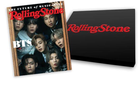 送料<お取り寄せ品>Rolling Stone June 2021 Special Collector's Box Set featuring BTS