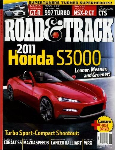 Road & Track (洋雑誌 定期購読 680円x12冊)