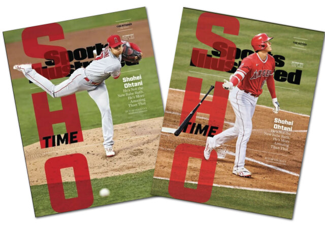 Sports Illustrated 大谷選手表紙