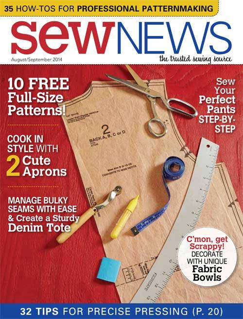SewNews 2年間 (洋裁海外雑誌 定期購読842円x12冊)