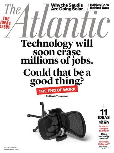 The Atlantic/ザ・アトランティック  (政治経済洋雑誌・定期購読780円x10冊)