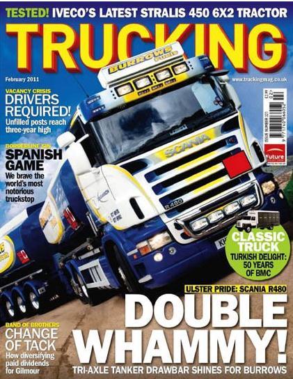 Trucking/トラッキング  (UK) (イギリス洋雑誌 定期購読 1280円x13冊 )