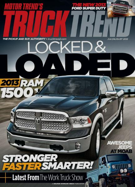 Truck Trend 2年間 (洋雑誌・定期購読 760円x12冊)