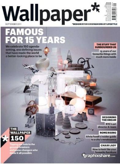 Wallpaper UK/ウォールペーパー(イギリスデザイン雑誌 定期購読 3080円x12冊)