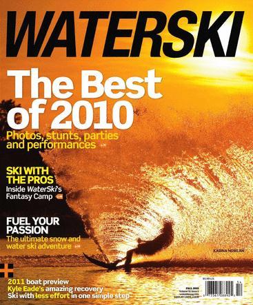 WaterSki /ウォータースキー (アメリカ洋雑誌 定期購読 1,260円x6冊)
