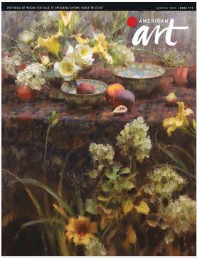 American Art Collector (アメリカ美術雑誌 定期購読 1480円x12冊 )