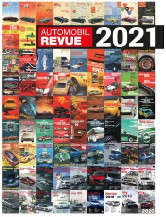<お取り寄せ品>Katalog der AUTOMOBIL REVUE  Catalog 2021 / Catalog 2021
