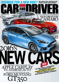 Car and Driver/カーアンドドライバー(アメリカ自動車雑誌 定期購読 780円x10冊)