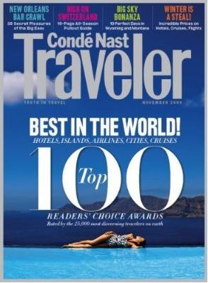 Conde Nast Traveler (USA) (洋雑誌 定期購読 940円x8冊 )