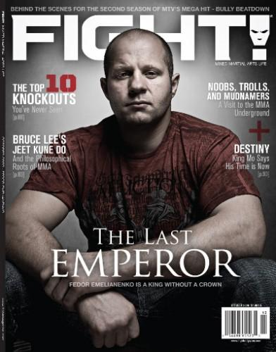 Fight magazine/ファイト (UFC洋雑誌 定期購読 680円x13冊 )