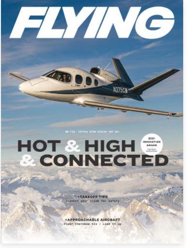 Flying/フライング (洋雑誌 定期購読1280円x12冊 )