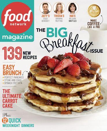 Food Network Magazine/フードネットワーク(海外レシピ雑誌購読 10冊x680円 )