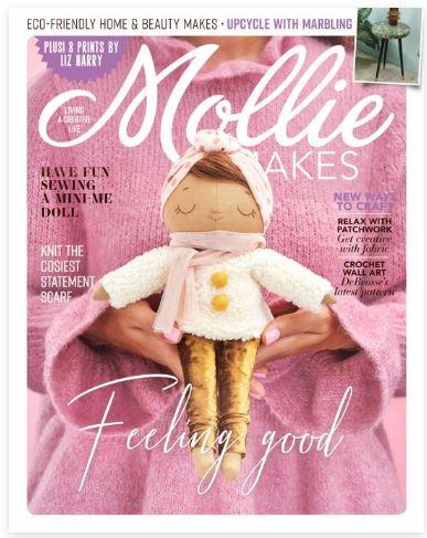 Mollie Makes  (ハンドメイド・イギリスクラフト雑誌 定期購読 1480円x13冊 )