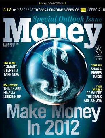 Money / マネー(ビジネス洋雑誌・定期購読825円x12冊)