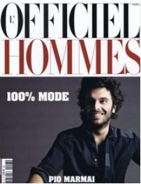 L'officiel Hommes (フランス洋雑誌 定期購読 2280円x8冊 )