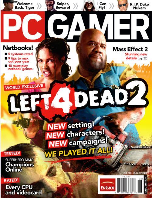 PC Gamer +CD (洋雑誌 定期購読 820円x12冊)