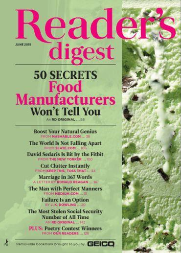 Reader's Digest 2015