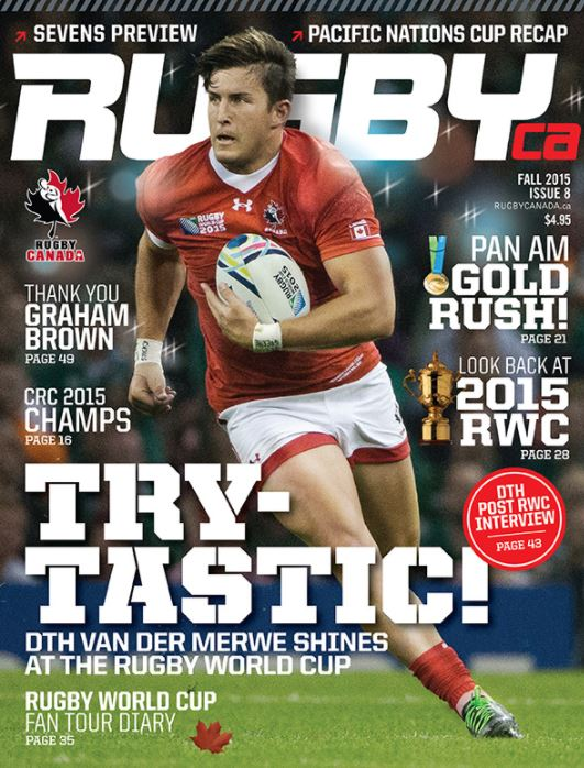 海外ラグビー雑誌 カナダ