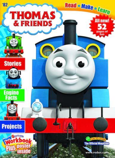 Thomas & Friends Magazine/トーマスとフレンズ (アメリカ幼児英語教材の定期購読 1080円x6冊)