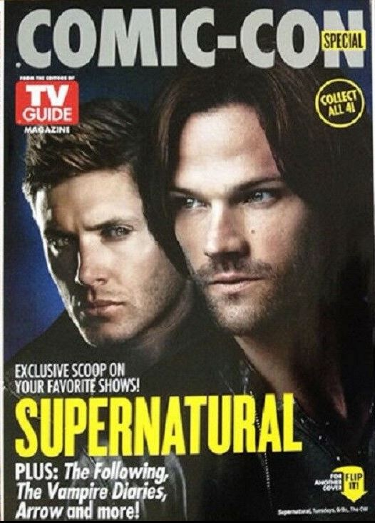 COMIC-CON TV Guide Special2014 SUPERNATURAL