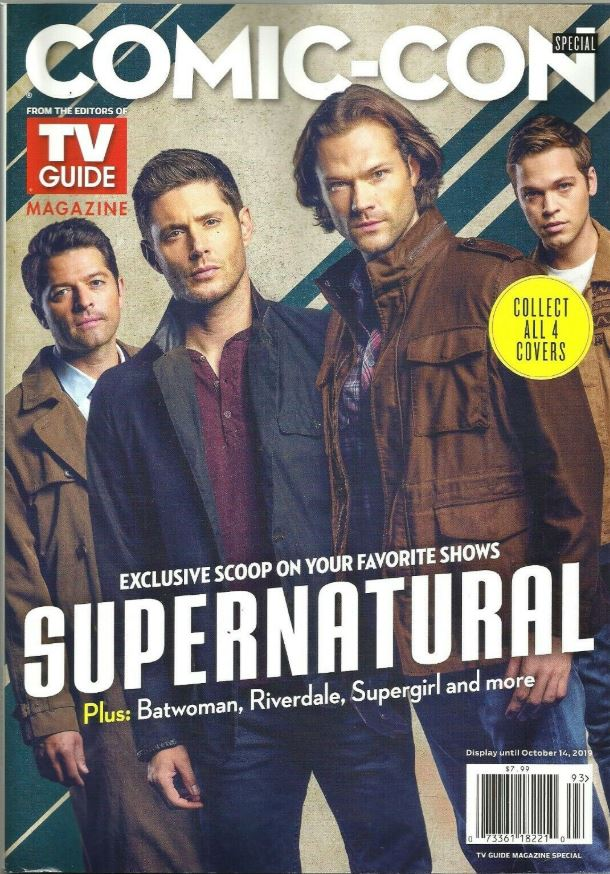 COMIC-CON TV Guide Special 2019 SUPERNATURAL
