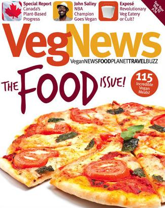 Vegnews Magazine  (洋雑誌・定期購読 1260円x6冊 )