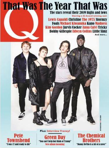 Q magazine (イギリス音楽雑誌 定期購読 1120円x13冊 )