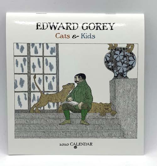 ゴーリー2020カレンダー(ミニ)Edward Gorey 2020 mini Calendar